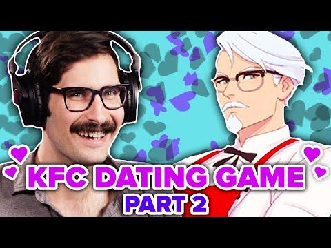 People Seduce Colonel Sanders In KFC Dating Simulator • Part 2