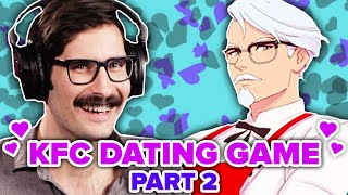 People Seduce Colonel Sanders In KFC Dating Simulator • Part 2