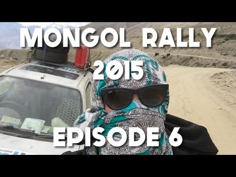 Mongol Rally Documentary 2015 - Episode 6 - Tajikistan, the Pamir Highway & Crashing the Car!
