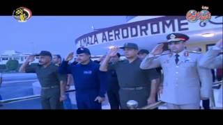 الفريق أول صدقى صبحى يغادر إلى قبرص فى زيارة رسمية تستغرق عدة أيام