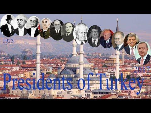 Presidents of Turkey