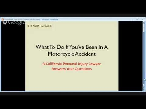 Los Angeles Motorcycle Accident Lawyer - California Motorcycle Injury Attorneys