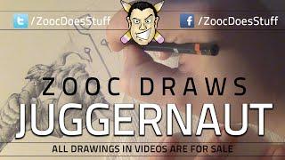 ♦ Zooc Draws - Juggernaut (DOTA 2) + gypsy burglars vlog update