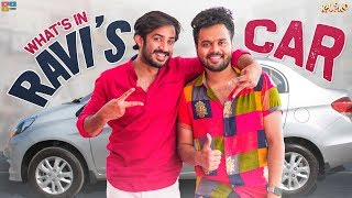 What's in ANCHOR RAVI's CAR? || Kaasko || Tamada Media