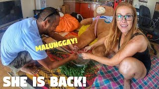 CANADIAN GIRL Comes Back To Travel The Philippines!! (FILIPINO NEIGHBOUR CHALLENGE)