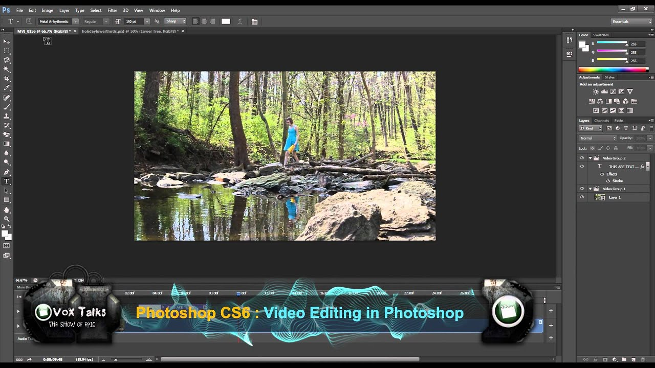 Video editing with photoshop cs6 youtube video editing with photoshop cs6 baditri Images