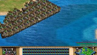 AOE 2 HD Teutons vs 4 others game 2 part 2