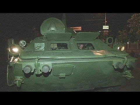 Ucrânia: Exercícios da Guarda do Estado em Kiev
