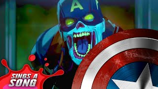 Zombie Captain America Sings A Song (Marvel Studios' What If...? Superhero Parody)