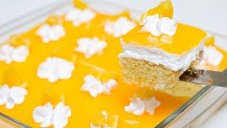 ORANGE SLICE CAKE I ORANGE PASTRIES l EGGLESS & WITHOUT OVEN