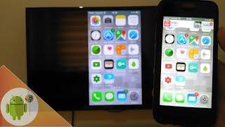 iPhone Ekranını Televizyona Yansıtma