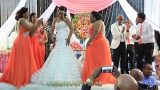 new ethiopian wedding by dj ab bridesmaids surprised the bride the groom