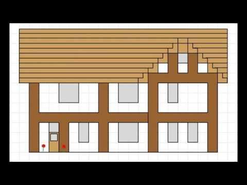 Bauplan Fachwerkhaus wn bauplan