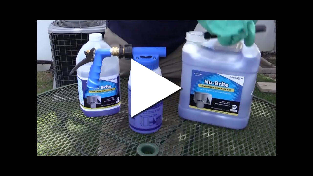2019 Nu Calgon Nu Brite Best Practices In Coil Cleaning Youtube