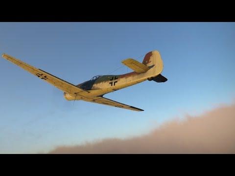 War Thunder - Ta-152 H-1 vs P-51 Dogfight