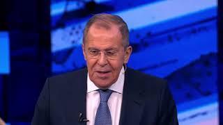 Ответы С.Лаврова в программе «Большая игра» на «Первом канале» Москва 22 декабря 2019 года