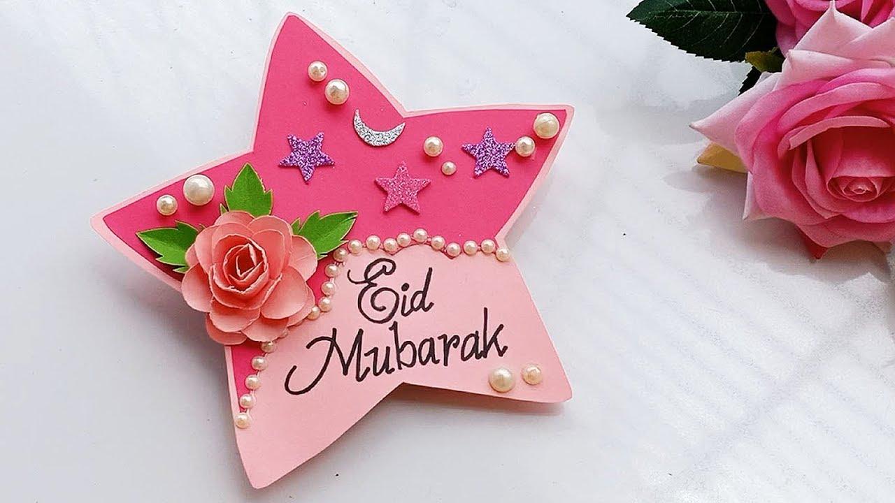 handmade greeting card for eideid greeting card handmade