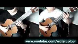 Vivaldi: Concerto RV532, 2nd movement Andante for 2 guitars by Da Vynci