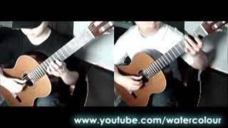 Vivaldi: Concerto RV532, 2nd movement Andante for 2 guitars by Da Vynci