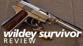 Review: The Wildey Survivor in 45 Winchester Magnum