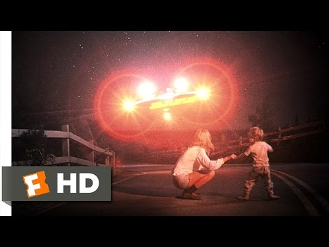 Close Encounters of the Third Kind 28 Movie   Chasing the UFOs 1977 HD