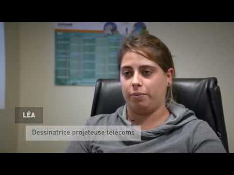 Le témoignage de Léa, dessinatrice projeteuse télécoms