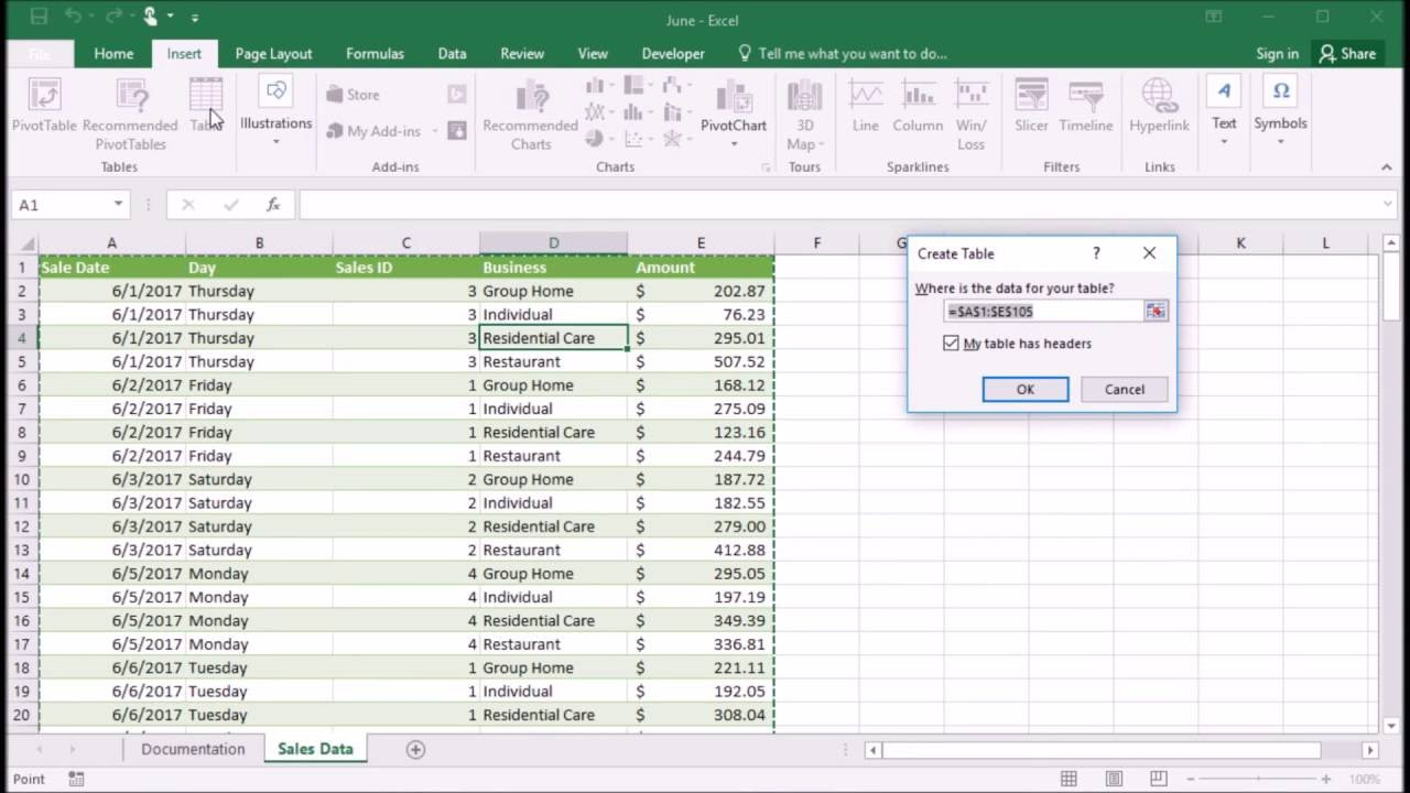 how to add subtotals to a table in excel