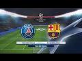 Champions League Paris Saint Germain Vs Barcelona 14 02 017 PES 2017 mp3