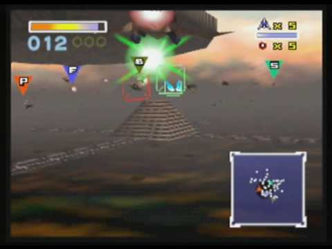 star fox 64 how to get to katina