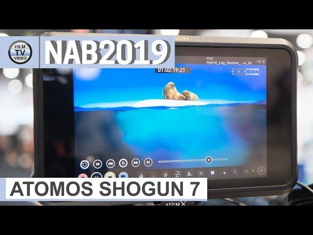 NAB2019: Atomos Shogun 7