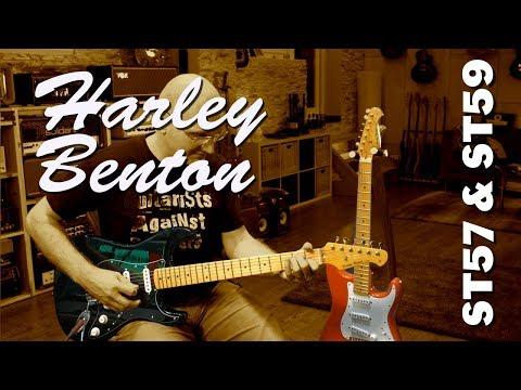 Harley Benton DG & HM Stratalicious Guitars - Review