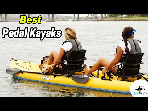 Best Pedal Kayaks In 2020 – Available On The Market