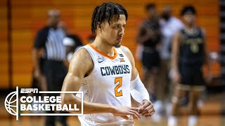 Check out highlights of oklahoma state freshman cade cunningham, currently the no. 1 pick in espn's 2021 nba mock draft, as he records 18 points, eight assis...