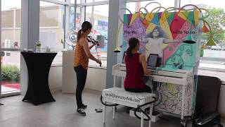 "duo526 MiPS ""Mozart in Public Spaces"": Sonata K. 304 (Norfolk, VA)"