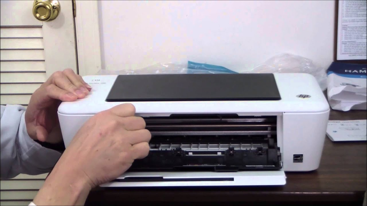 Hp Deskjet 1010 Unboxing Amp Setup Youtube