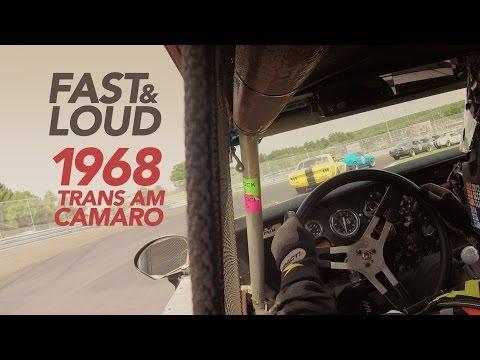 "1968 ""Trans Am"" Camaro - GoPro Race Footage"