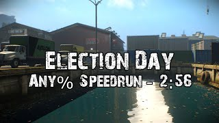 PAYDAY 2 - Election Day DW Solo - Stealth Speedrun 2:54 GT [SDA]