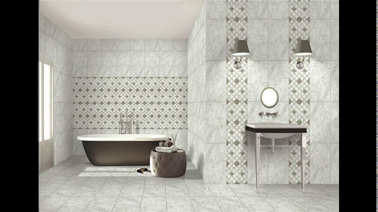 Kajaria bathroom tiles design in india - YouTube