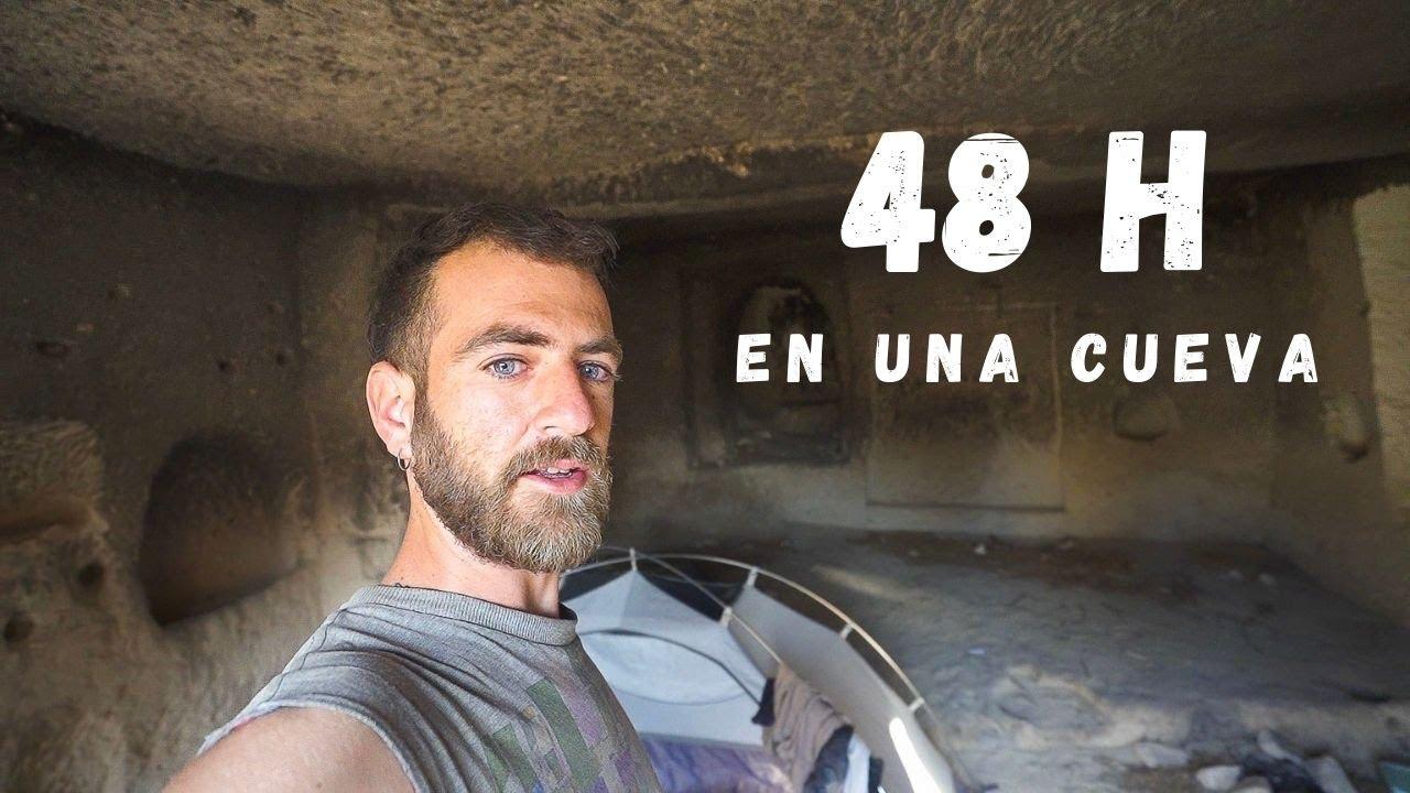 Sobrevivo 2 DÍAS en una CUEVA || Episodio 45 - Vuelta al mundo en bicicleta