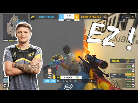 When S1mple clutches #4