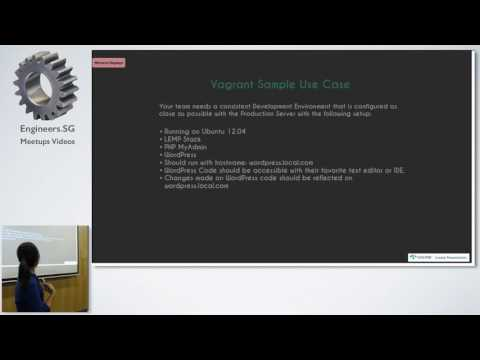 Taming your Dev Environment with Vagrant - Singapore PHP User Group