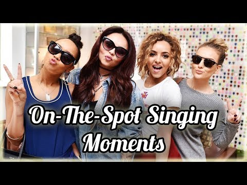 Little Mix Slaying On-The-Spot Singing Moments