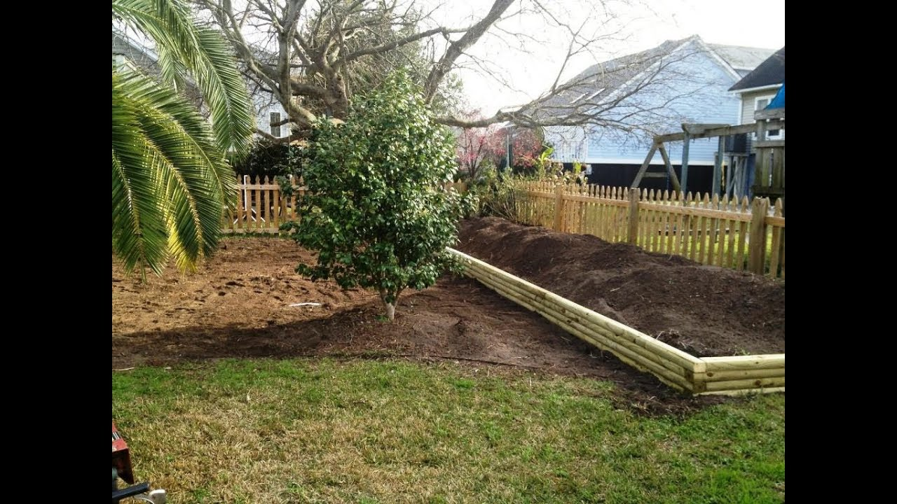 Landscape timber edging ideas