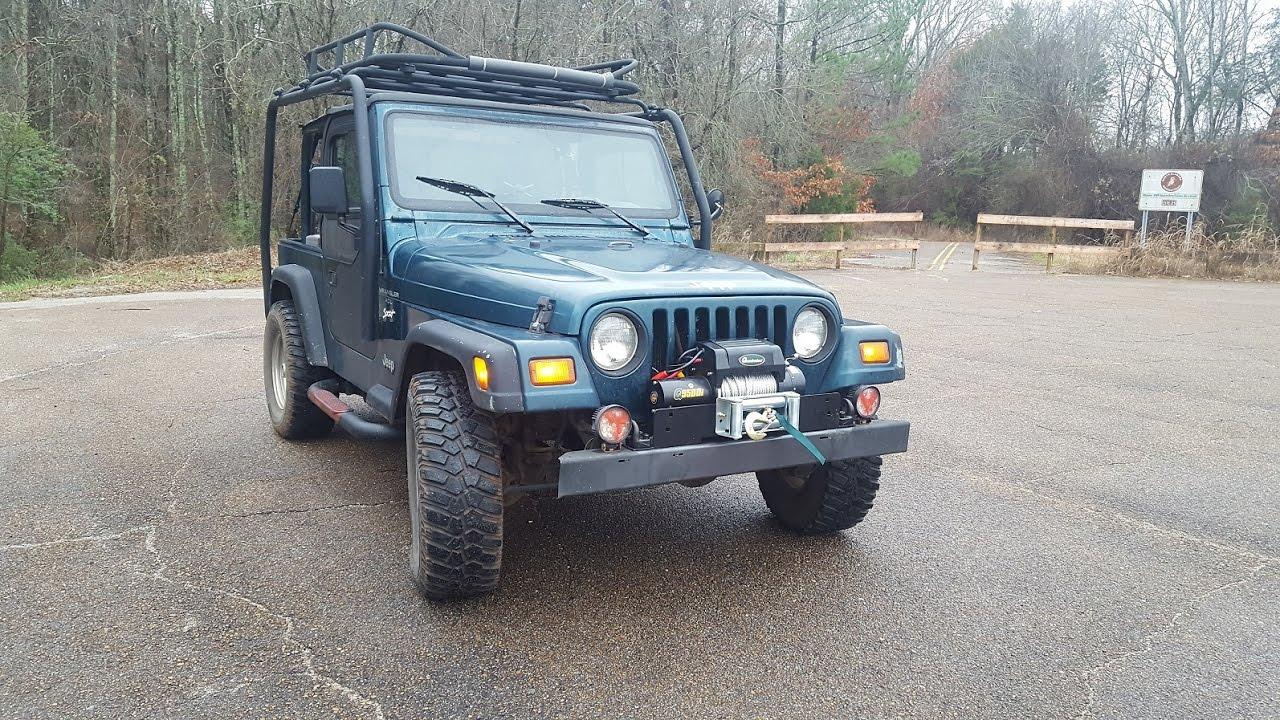 Jeep Wrangler winch installation YouTube