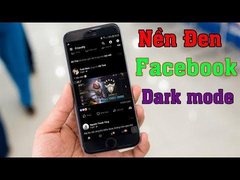 Cách Tạo Nền Đen Facebook Bảo Vệ Mắt Của Bạn (dark mode facebook)