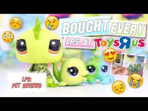 LPS: I BOUGHT EVERY LPS?! - Final Toys R Us Mini Haul