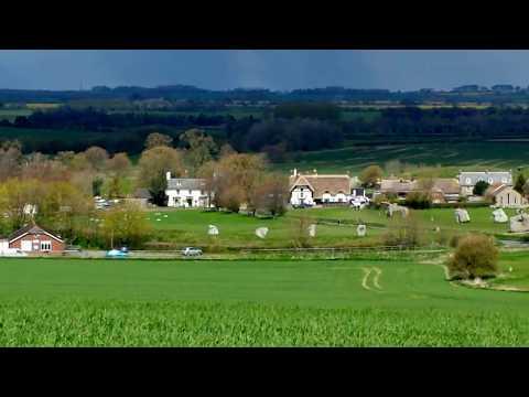 The Village Of Avebury And It's Stone Circle - Avebury, Wiltshire, England