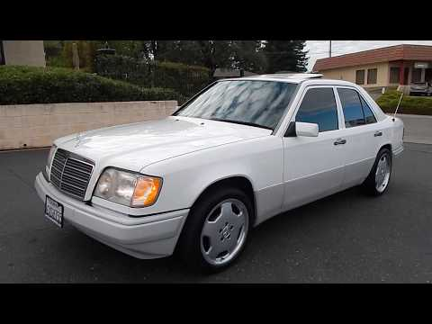 1995 Mercedes Benz E300D With 5 Speed Manual Transmission W124 Video Overview And Walk Around.
