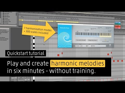 How to play harmonic melodies instantly with MelodicFlow MIDI VSTi