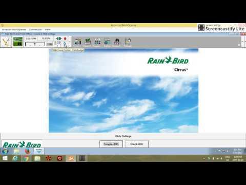 Rainbird Cirrus Software: Water Windows (Assign. 2)